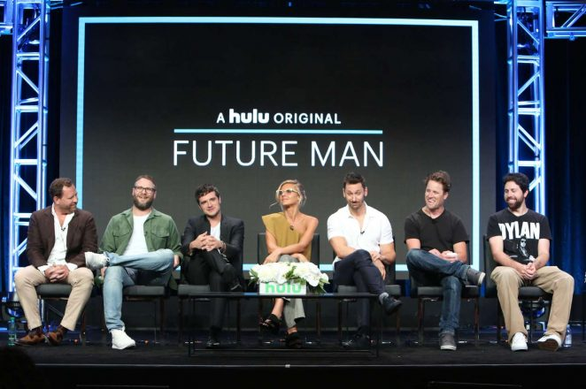 Eliza Coupe: Future Man TV Show Panel -02