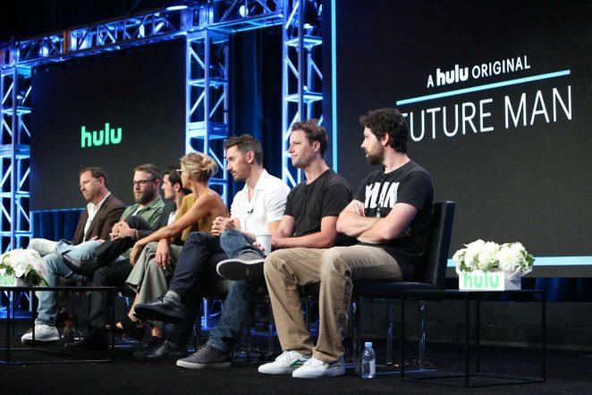 Eliza Coupe: Future Man TV Show Panel -03