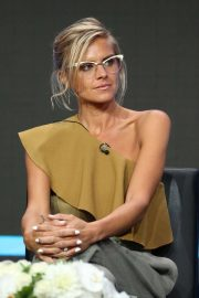 Eliza Coupe - Hulu 'Future Man' Panel - 2019 TCA Summer Press Tour in LA