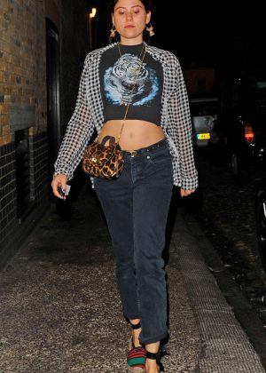 Eliza Doolittle Leaving the Chiltern Firehouse in London