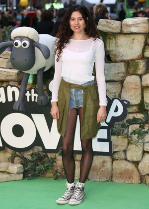 "Eliza Doolittle - ""Shaun The Sheep Movie"" Premiere in London"