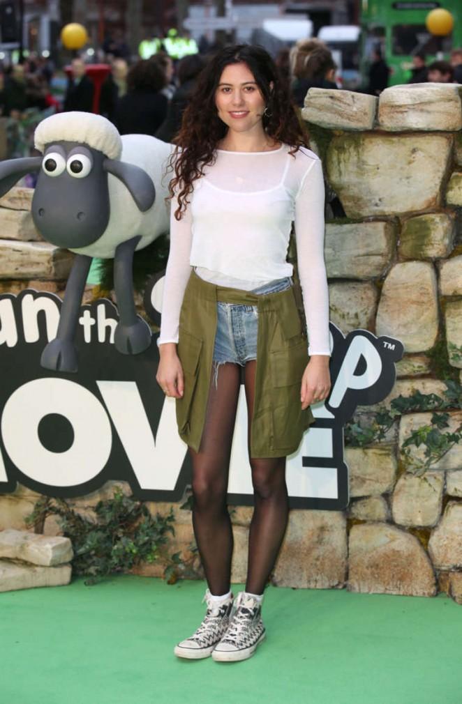 "Eliza Doolittle - ""Shaun The Sheep Movie"" Premiere in London"
