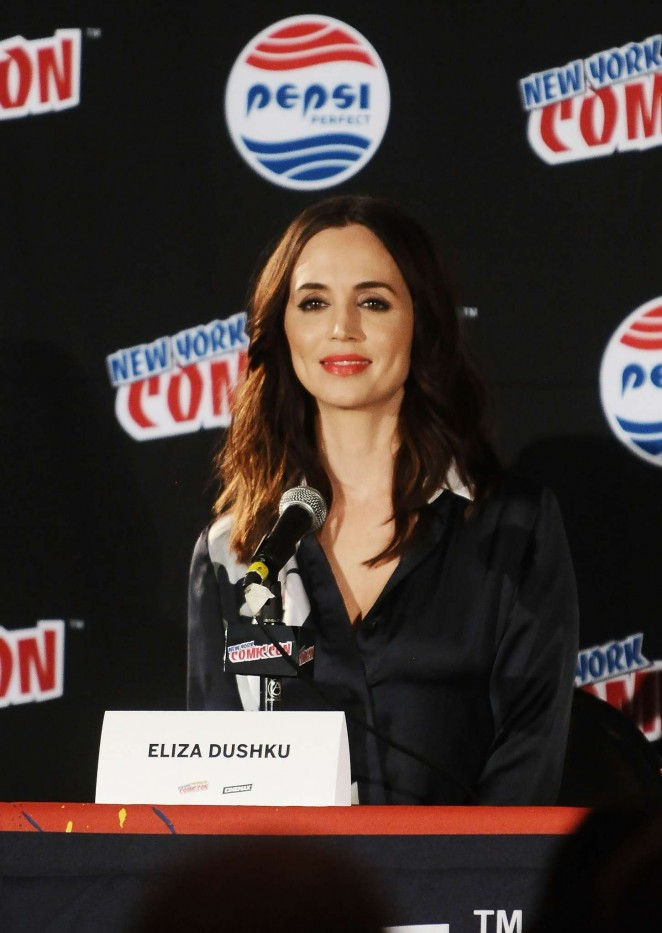 Eliza Dushku - 2015 New York Comic-Con Banshee Panel in NY