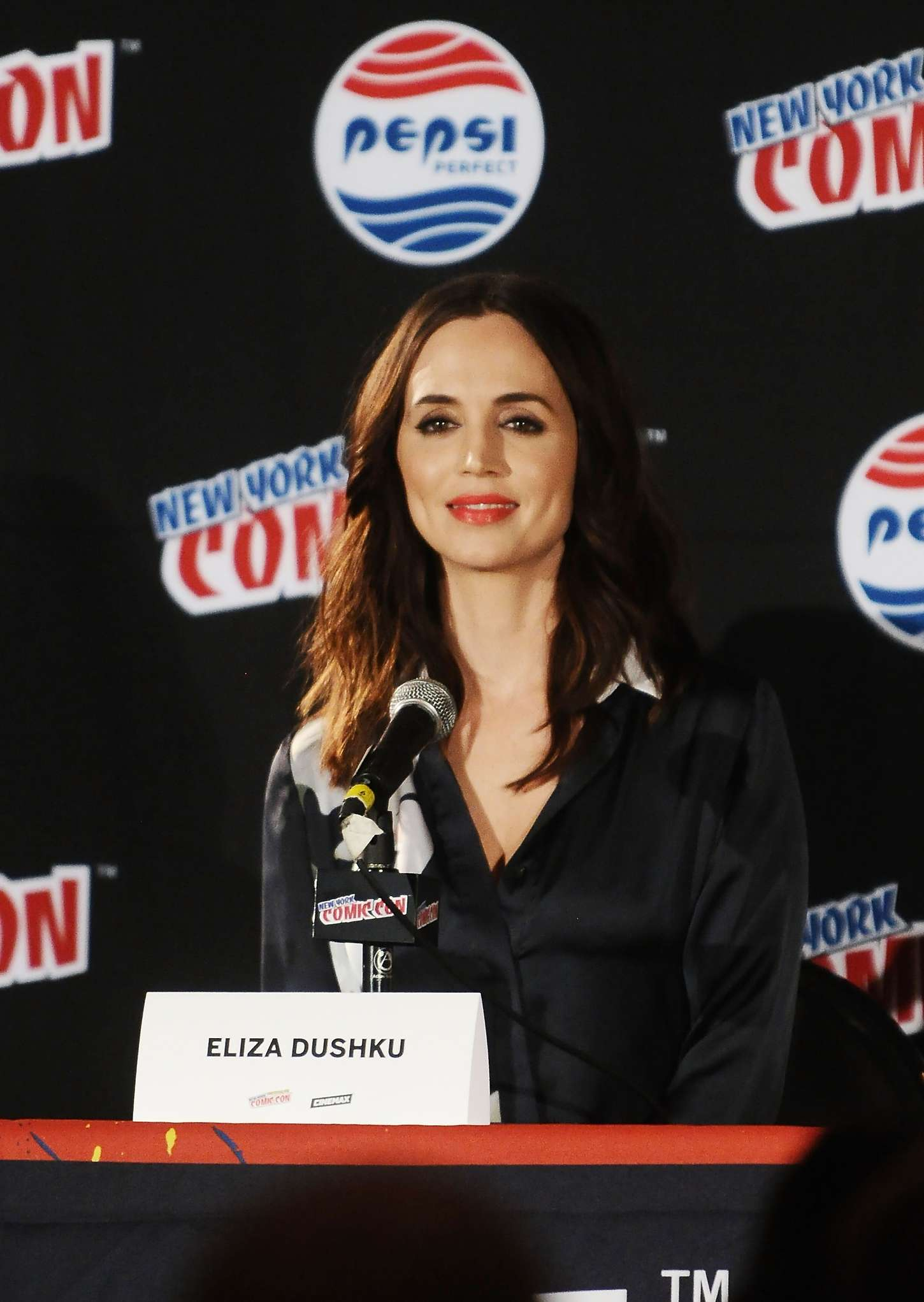 Eliza Dushku - 2015 New York Comic-Con Banshee Panel in NY