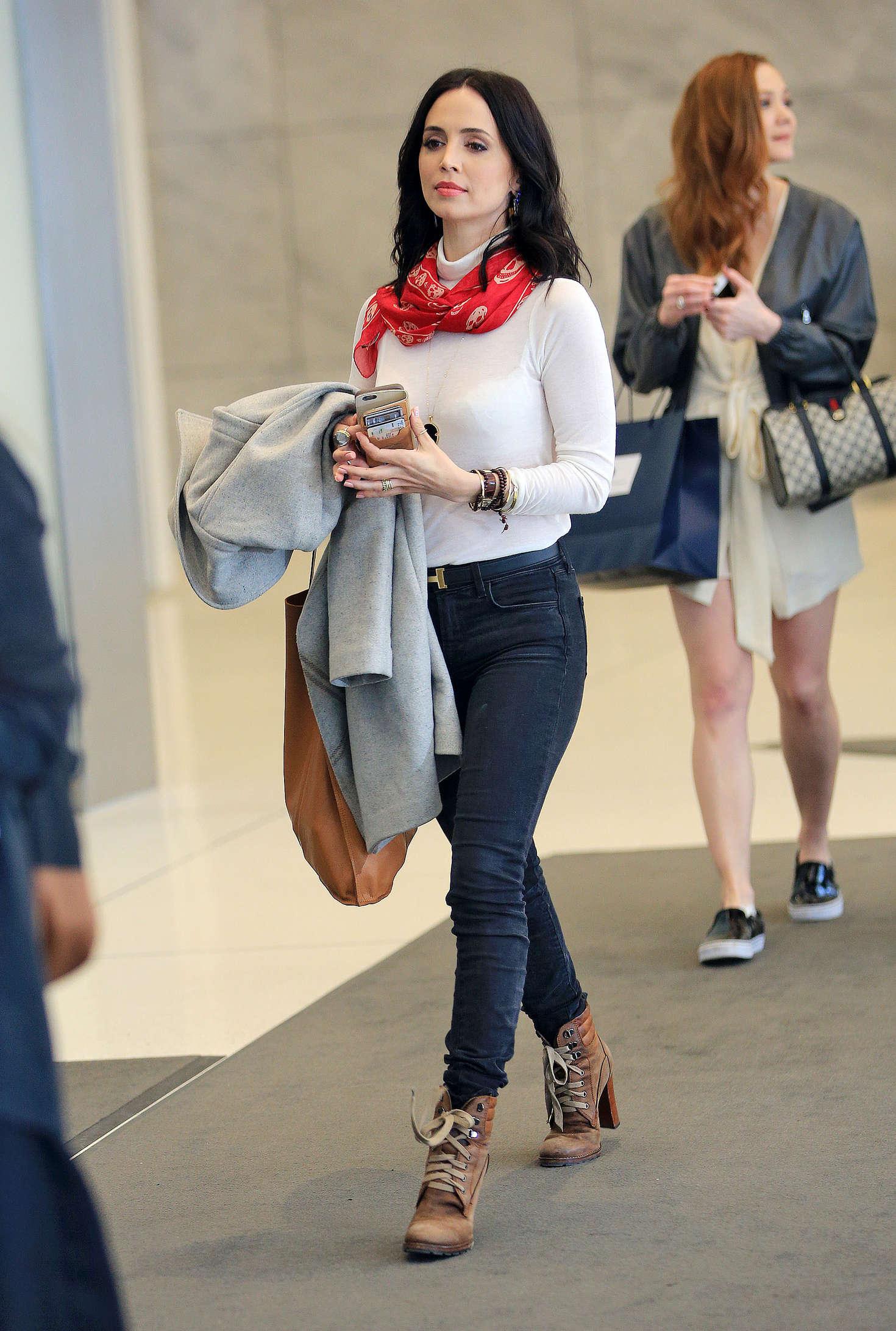 Eliza Dushku 2016 : Eliza Dushku in Tight Jeans -06