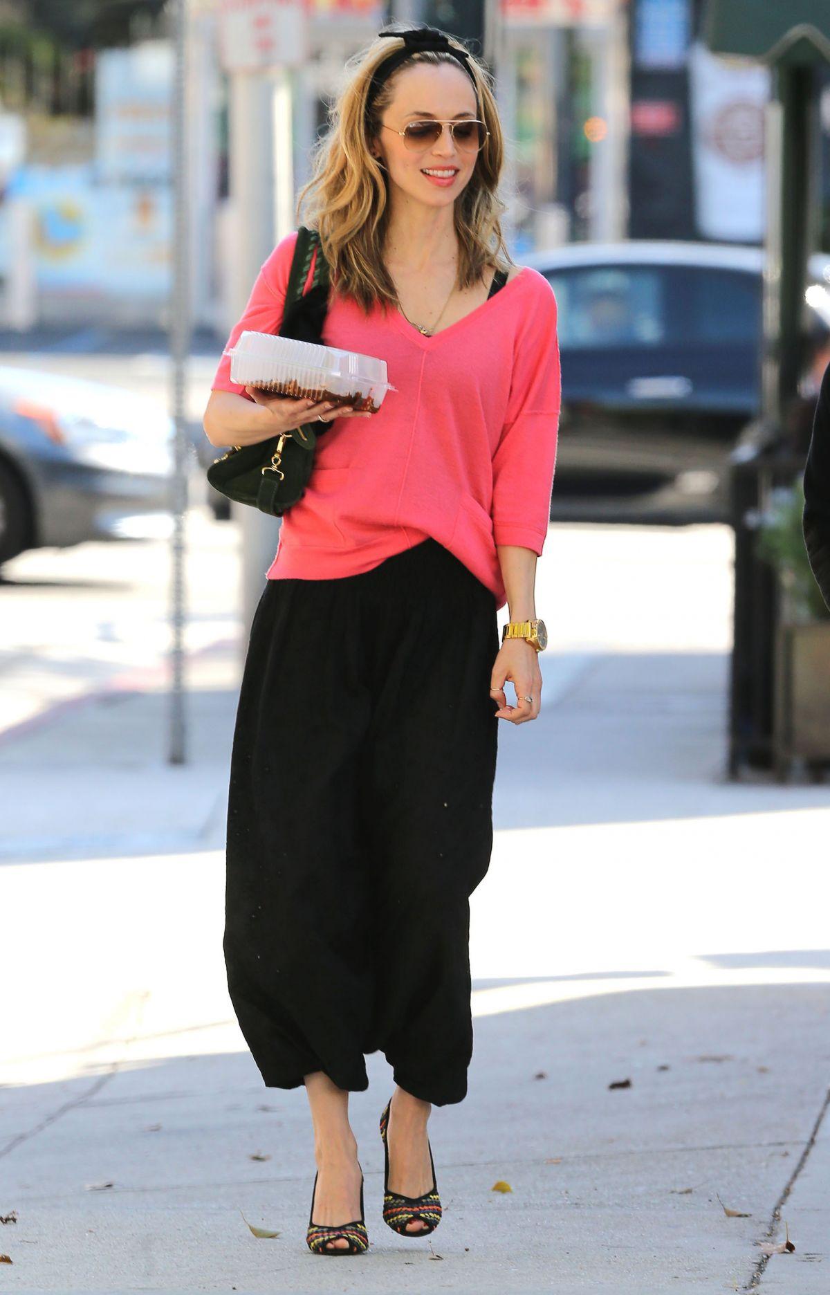 Eliza Dushku Out in Los Angeles