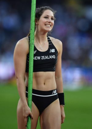 Eliza McCartney - Women's Pole Vault Final at 2017 IAAF World Championships in London