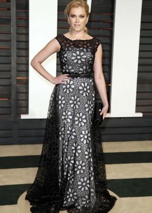 Eliza Taylor - 2015 Vanity Fair Oscar Party in Hollywood