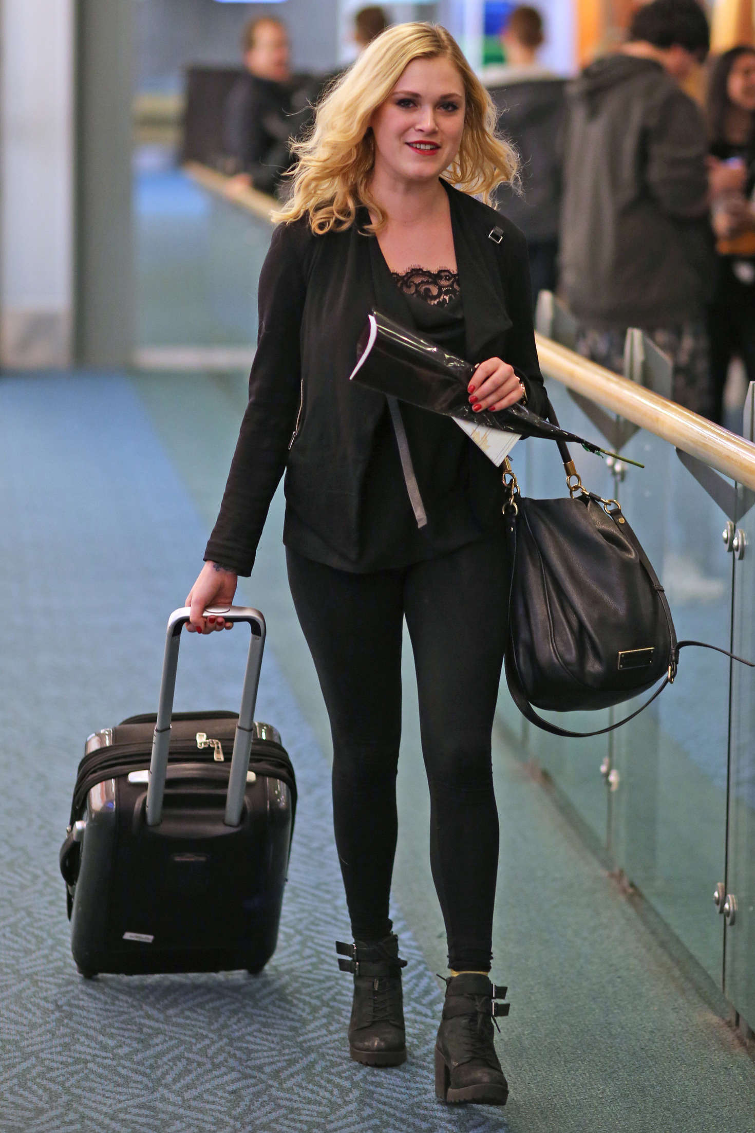 back to post eliza taylor arriving in vancouver