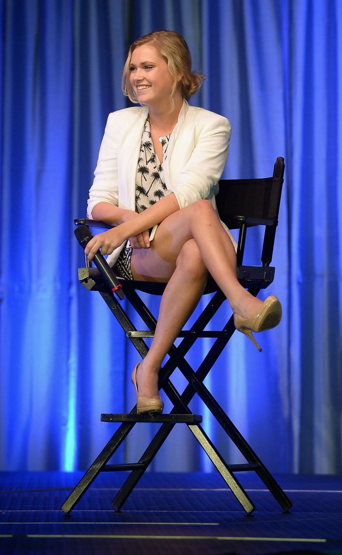 Eliza Taylor in Short Dress -12