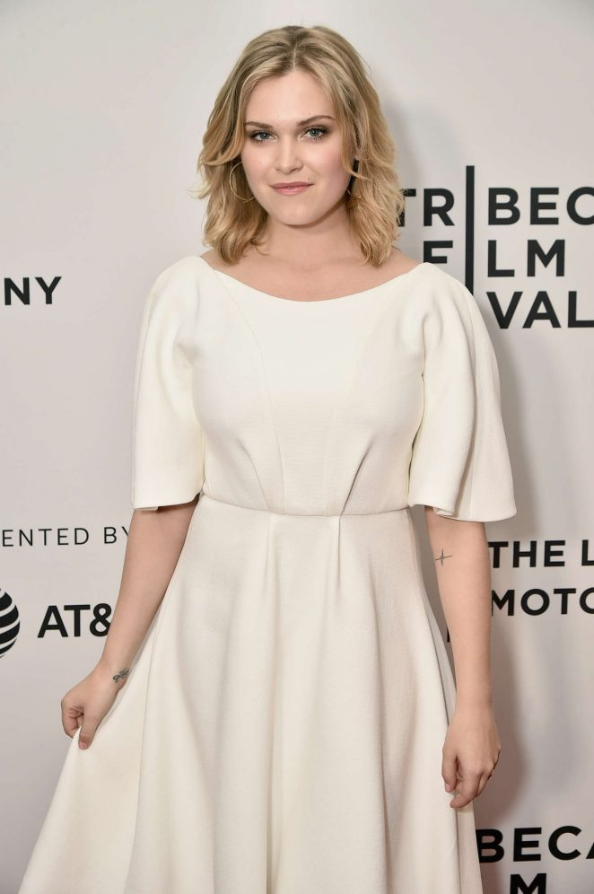 Eliza Taylor - 'Thumper' Premiere at 2017 Tribeca Film Festival in NYC