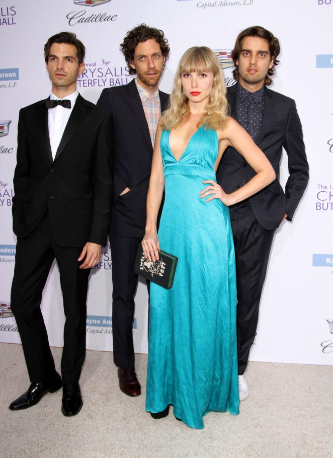Elizabeth Anne - 15th Annual Chrysalis Butterfly Ball in LA