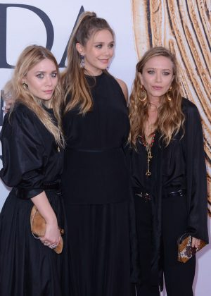 Elizabeth, Ashley and Mary-Kate Olsen - 2016 CFDA Fashion Awards in New York