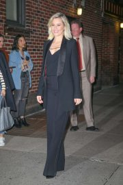 Elizabeth Banks - Arriving at 'The Late Show with Stephen Colbert' in NY