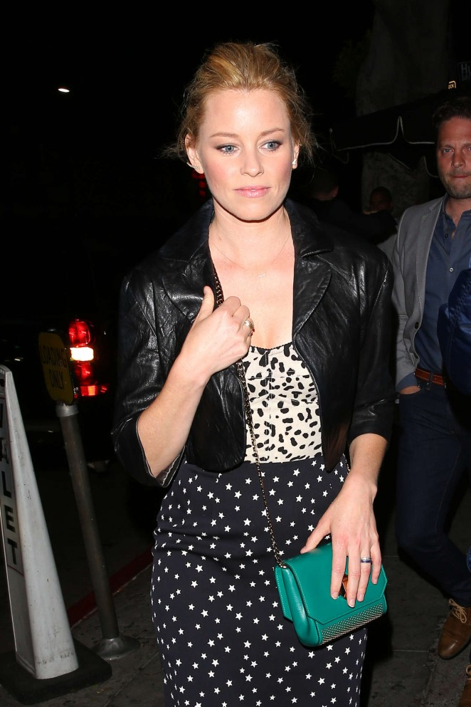 Elizabeth Banks at Reese Witherspoon's 40th Birthday Party in Los Angeles