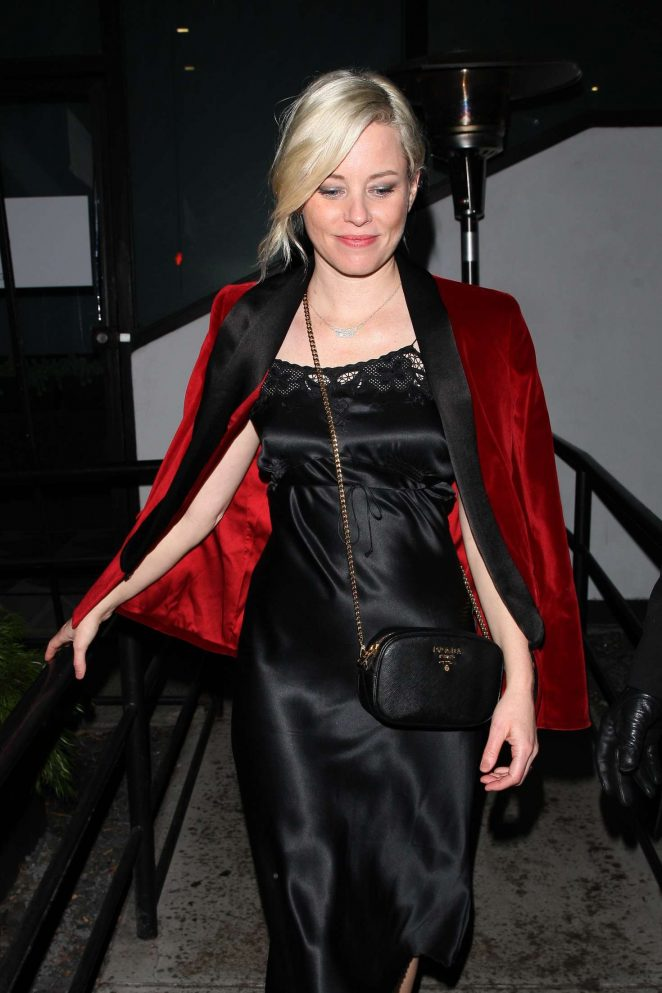 Elizabeth Banks at the Poppy club in West Hollywood