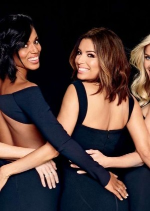Elizabeth Banks, Reese Witherspoon, Eva Longoria and Kerry Washington - EW Magazine (February 2016)