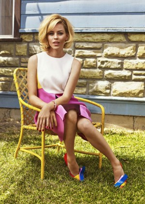 Elizabeth Banks: The Edit Magazine 2015 -05
