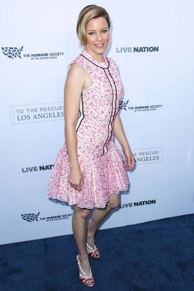Elizabeth Banks - The Humane Society 'To the Rescue!' Gala in LA
