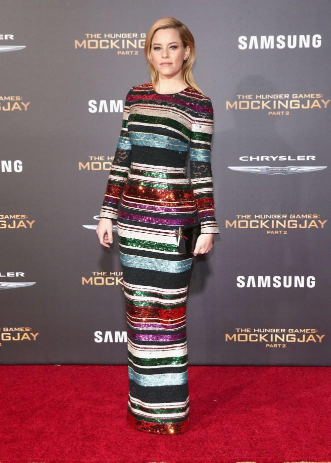 Elizabeth Banks: The Hunger Games Mockingjay Part 2 LA Premiere -03