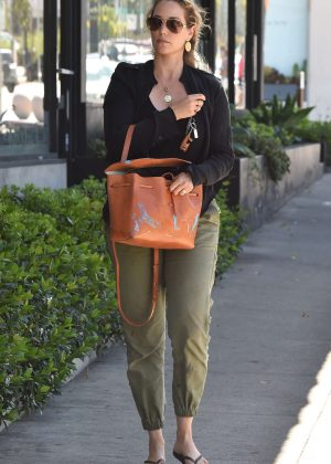 Elizabeth Berkley out in West Hollywood