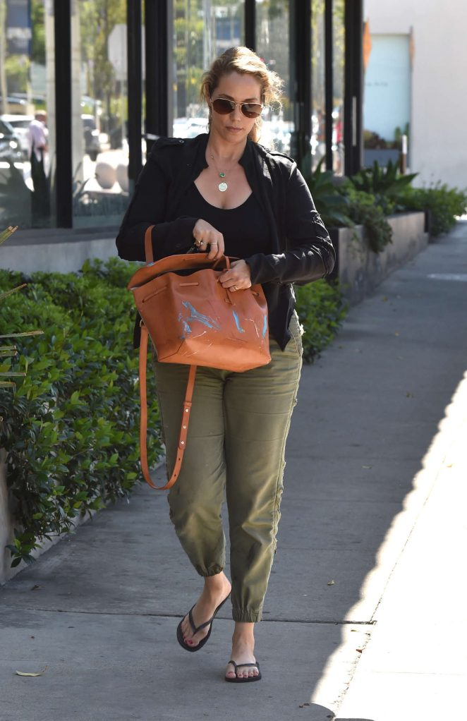 Elizabeth Berkley out in West Hollywood