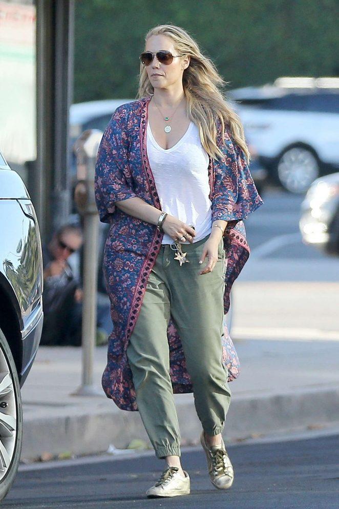 Elizabeth Berkley - Out in West Hollywood