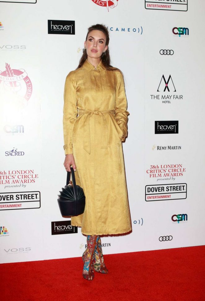 Elizabeth Chambers – 38th London Critics Circle Film Awards in London