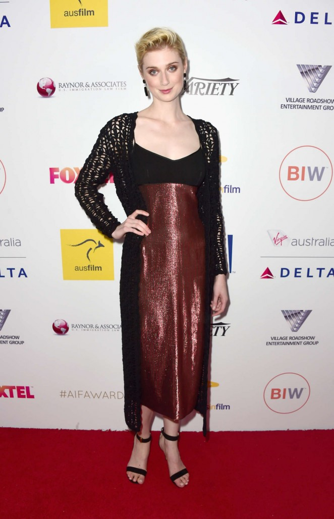Elizabeth Debicki - 2015 Australians In Film Awards Benefit Dinner And Gala in Century City