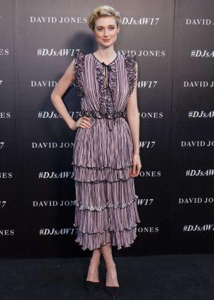 Elizabeth Debicki - Autumn Winter 2017 David Jones Fashion Launch in Sydney