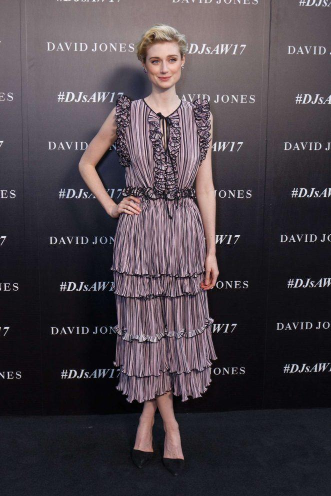Elizabeth Debicki – Autumn Winter 2017 David Jones Fashion Launch in Sydney