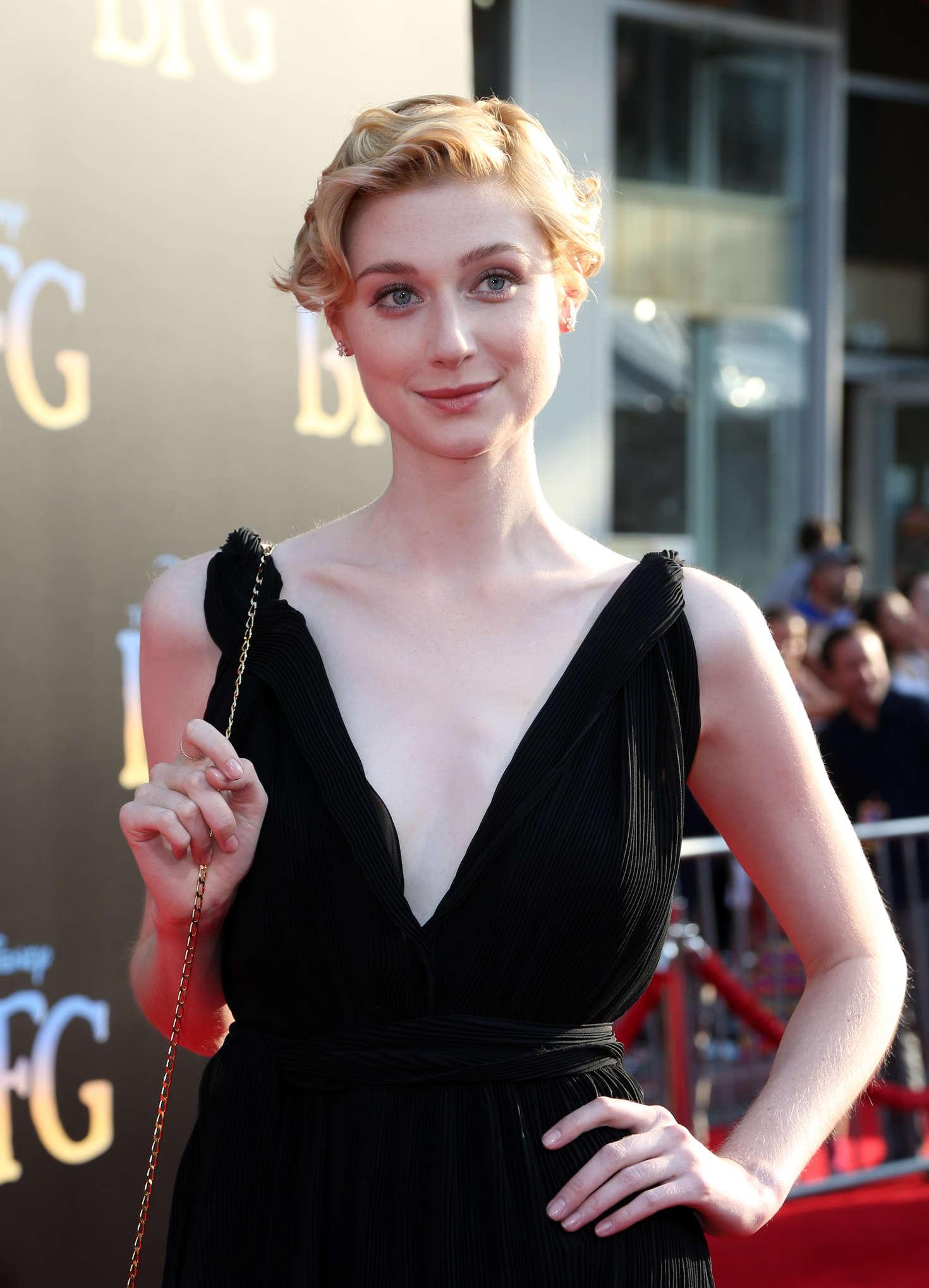 Elizabeth Debicki – 'The BFG' Premiere in Hollywood – GotCeleb