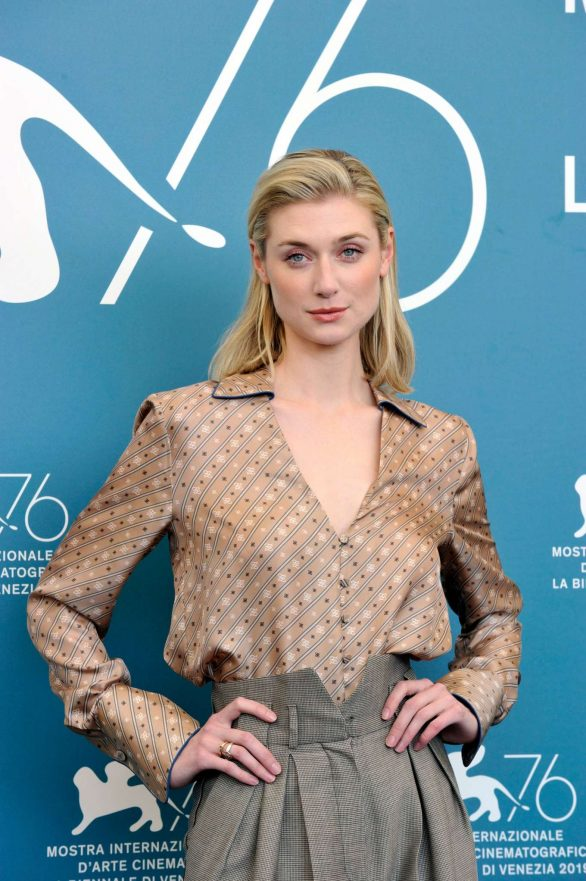 Elizabeth Debicki 2019 : Elizabeth Debicki – The Burnt Orange Heresy Photocall – 76th Venice Film Festival-19