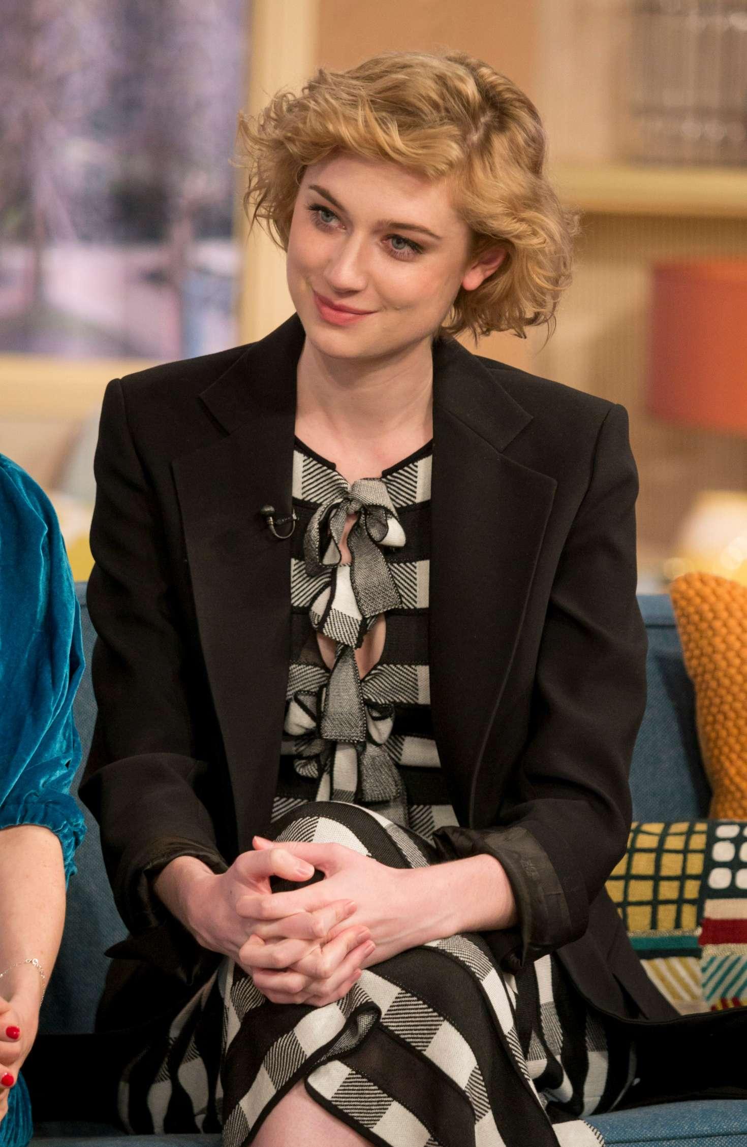 Elizabeth Debicki - 'This Morning' TV Show in London