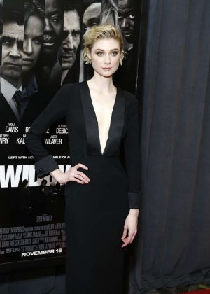 Elizabeth Debicki - 'Widows' Screening in New York