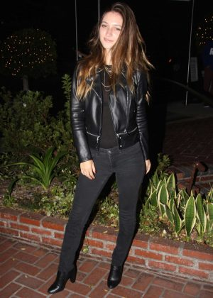 Elizabeth Elam At Sunset Marquis In West Hollywood