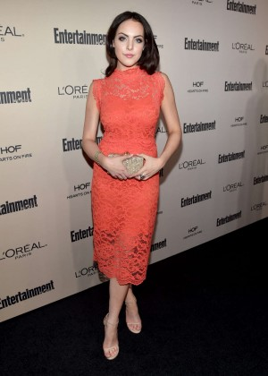 Elizabeth Gillies - 2015 Entertainment Weekly Pre-Emmy Party in West Hollywood