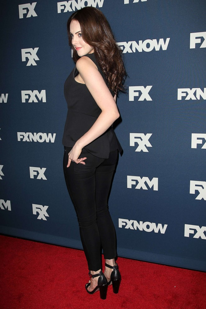 Elizabeth Gillies - 2015 FX Bowling Party in NYC