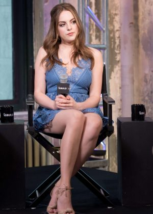 Elizabeth Gillies - AOL Build Series at AOL Studios in New York