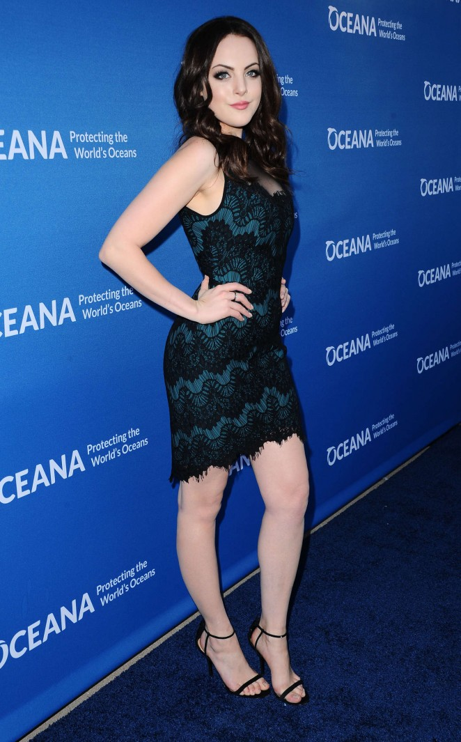Elizabeth Gillies - Oceana Concert for our Oceans in Beverly Hills