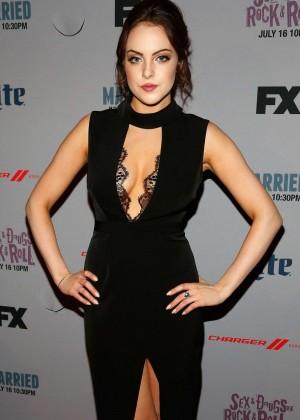 Elizabeth Gillies - 'Sex&Drugs&Rock&Roll' Premiere in NY