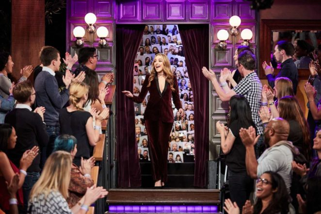 Elizabeth Gillies - 'The Late Late Show with James Corden' in Los Angeles