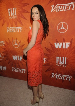 Elizabeth Gillies – Variety And Women in Film Annual Pre ...