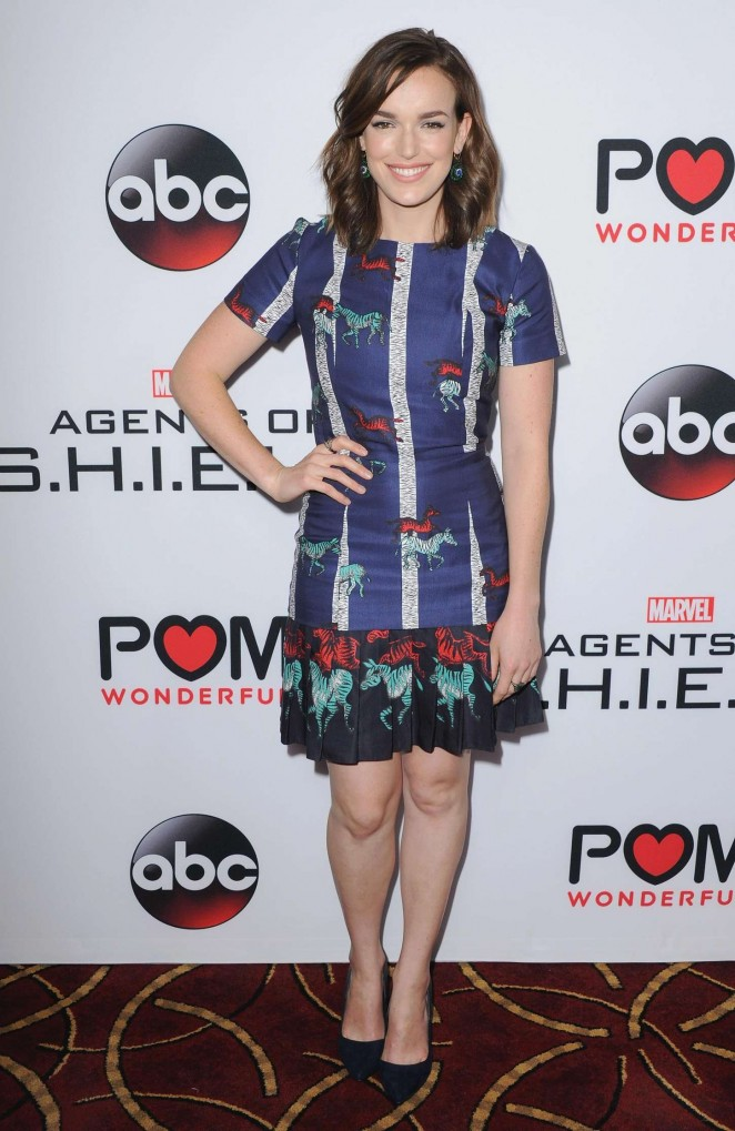 Elizabeth Henstridge - 'Agents of S.H.I.E.L.D.' Premiere in LA
