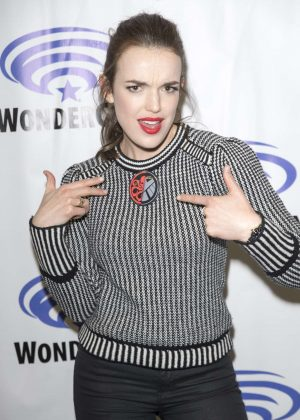 Elizabeth Henstridge - 'Agents of Shield' Press Room at WonderCon in Anaheim