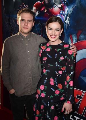 "Elizabeth Henstridge - ""Avengers: Age Of Ultron"" Premiere in Hollywood"