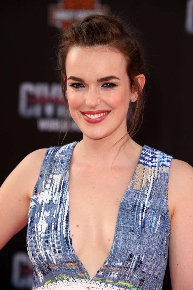 Elizabeth Henstridge - 'Captain America: Civil War' Premiere in Hollywood
