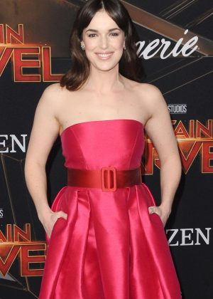 Elizabeth Henstridge - 'Captain Marvel' Premiere in Los Angeles