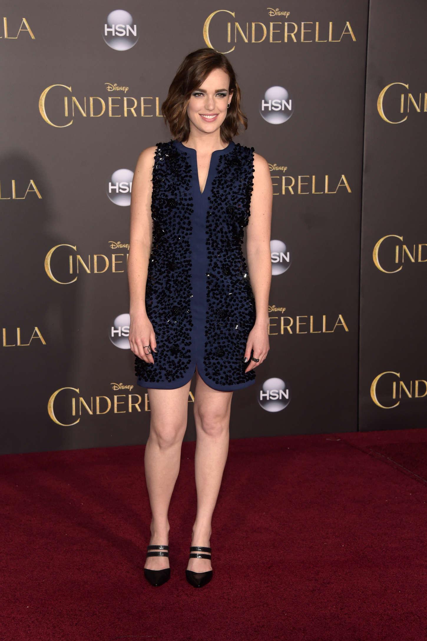 Elizabeth Henstridge: Cinderella Premiere -05 - GotCeleb