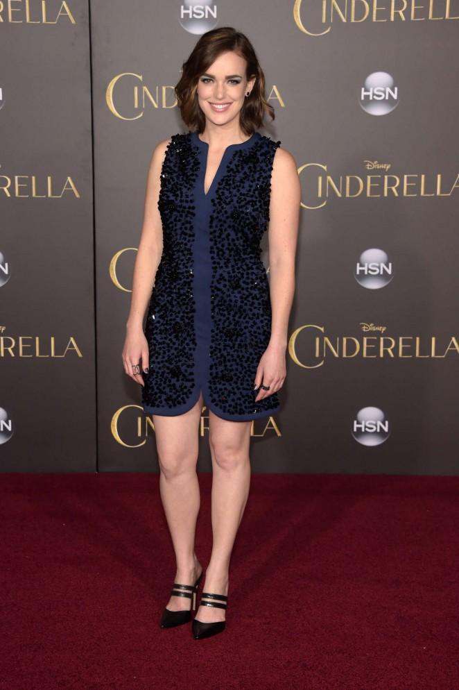 Elizabeth Henstridge: Cinderella Premiere -06 - GotCeleb